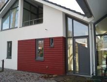 Duurzame woning met bedrijfsruimte